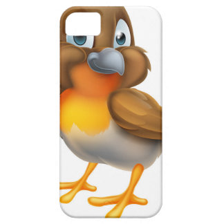 Robin Bird Cartoon Character iPhone 5 Case