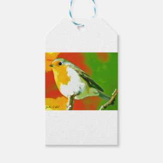 Robin Bird Gift Tags