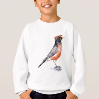 Robin Bird in Hat Sweatshirt