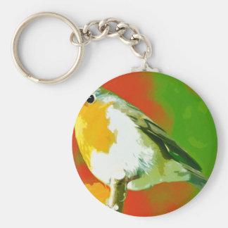 Robin Bird Key Ring
