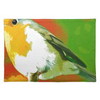 Robin Bird Placemat