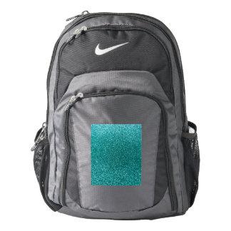 Robin egg blue glitter backpack