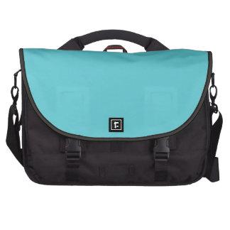 """Robin Egg Blue"" Laptop Messenger Bag"