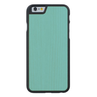 Robin Egg Blue Maple Wood Carved® Maple iPhone 6 Slim Case