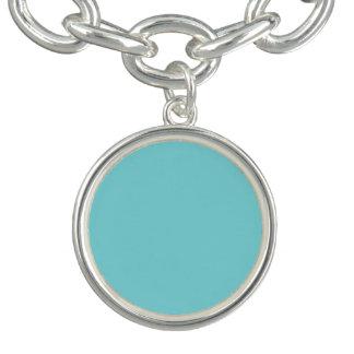 Robin Egg Blue Charm Bracelets