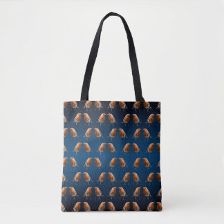 Robin Frenzy All Over Print Bag (Navy/Blue Mix)