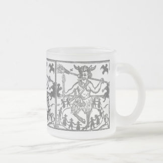 Robin Goodfellow (1629) Frosted Glass Coffee Mug