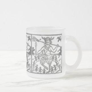 Robin Goodfellow (1629) Frosted Glass Coffee Mug