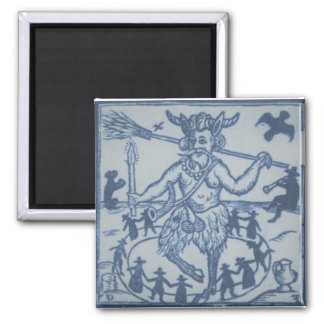Robin Goodfellow (1629) Square Magnet