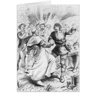 Robin Hood and the Bishop Card