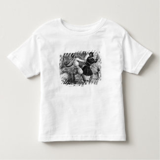 Robin Hood and the Tanner with Quarter-staffs Toddler T-Shirt