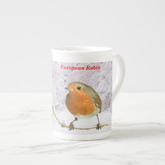 Robin image for Bone China Mug