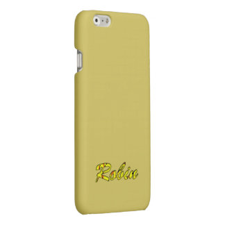 Robin iPhone Yellow case