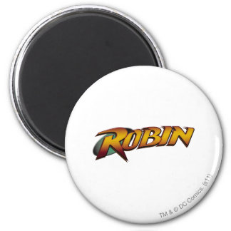 Robin Logo 2 Fridge Magnets