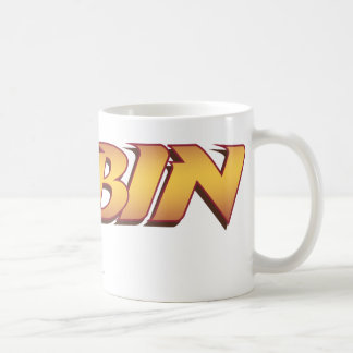 Robin Name Logo Coffee Mug