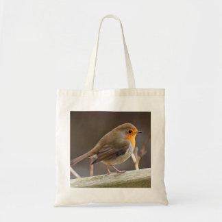 Robin on a Tote bag
