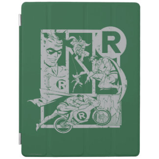 Robin - Picto Grey iPad Cover