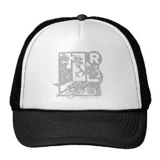 Robin - Picto Grey Mesh Hat