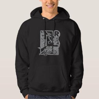 Robin - Picto Grey Hoodie