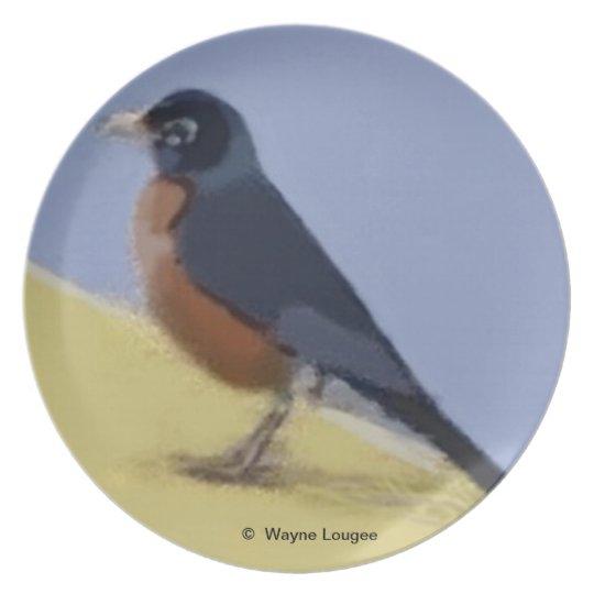 Robin plate