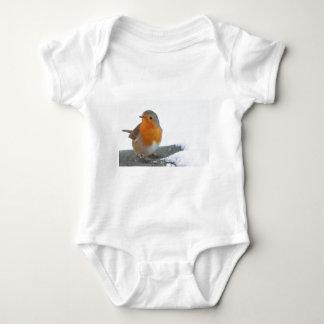 Robin Red Breast Baby Bodysuit
