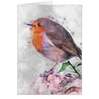 Robin Redbreast Greeting Cards
