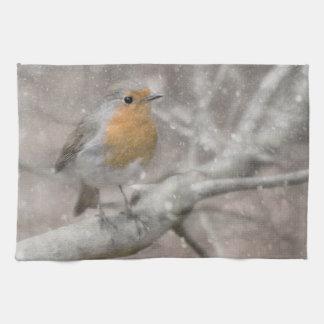 Robin towel