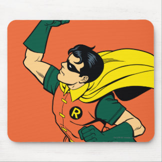 Robin Uppercut Mouse Pad