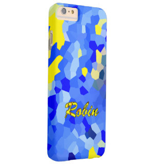 Robin Yellow Blue iPhone cover