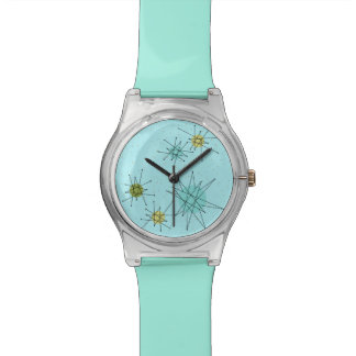 Robin's Egg Blue Atomic Starbursts  May 28th Watch