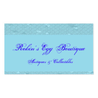 Robins Egg Blue Business Card Templates