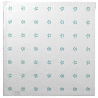 Robins Egg Blue Flower Cloth Napkin