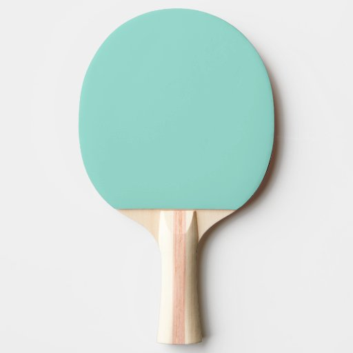 Robin's Egg Blue Ping-Pong Paddle