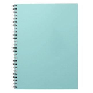 Robin's Egg Blue Notebook