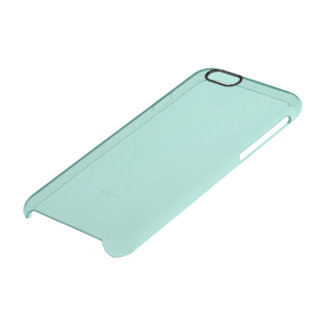 Robin's Egg Blue Solid Colour Clear iPhone 6/6S Case