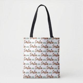 Robins Texture All Over Print Bag (choose colour)