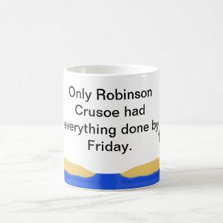 Robinson Crusoe Coffee Mug