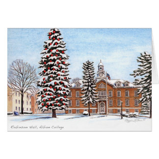 Robinson Hall, Albion College notecard