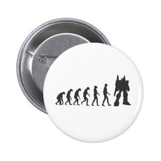 Robo-Evolution 6 Cm Round Badge