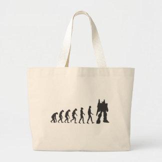Robo-Evolution Jumbo Tote Bag