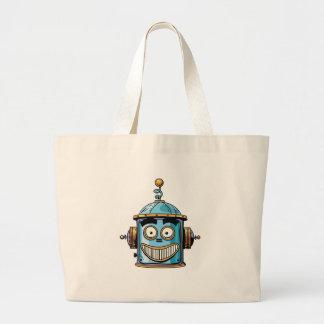 Robo Large Tote Bag