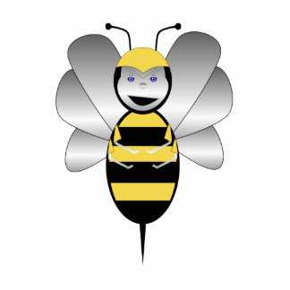 Robobee Bumble Bee Ornament Photo Cut Out