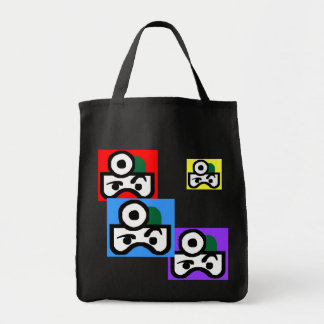 Robodox Man Grocery Bag