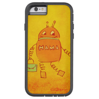 Robomama Cute Geek Mother Robot Protective Tough Xtreme iPhone 6 Case
