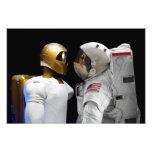 Robonaut 2, a dexterous, humanoid astronaut hel photograph