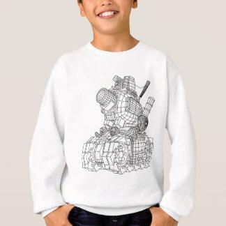 robot-2 sweatshirt