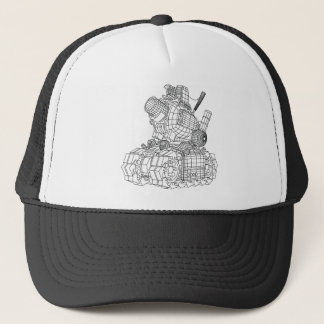 robot-2 trucker hat