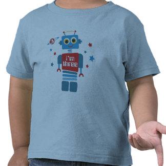 Robot 3rd Birthday T-shirt