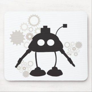 Robot and Gears Mousepad