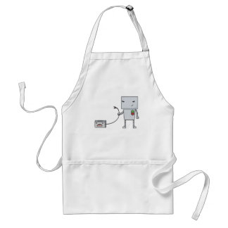Robot and Toaster Standard Apron